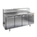PZ1-111/GN (1/3H) КАМЕНЬ стол для пиццы охл.(+2+10), 3 двери, 1835х700х850мм, камен. раб.пов. глуб. 324мм, HICOLD RUS