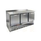 GNE 111/TN BOX стол охл. (-2+10), 3 выдвиж. секции, 1485х700х850мм, ниж.распол.агрегата, HICOLD RUS