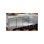 BN 1122/BT стол охл. (-10-18), 2 двери, 4 ящика, 2280х500х850мм, HICOLD RUS