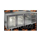 BNG 111 HT стол охл. (+2+10), 3 стеклянные двери, 1835х500х850мм, HICOLD RUS
