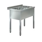 """Ванна моечная """"ASSUM-Premium"""" ВМП-2/400 (950х600х850)"""