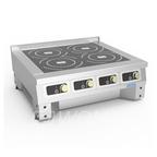 Плита индукционная ПЭИ-4(700) настольная, 4 конфорки по 3,5кВт; потребляемая мощность- 14,0кВт.