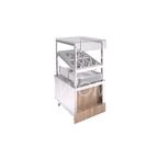 Прилавок (Диспенсер) для столовых приборов RD10A Capital 605х700х1255 мм