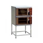 Шкаф жарочный ШЖЭС-2, двухсекционный со стеклянной распашной дверцей