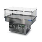 Холодильная витрина встраиваемая (стекло) 1200х450х300(850)  Камик