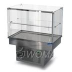 Холодильная витрина встраиваемая (стекло) 1100х650х600(1150)  Камик