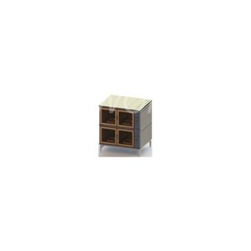 Шкаф расстоечный ШРЭ-2, двухсекционный