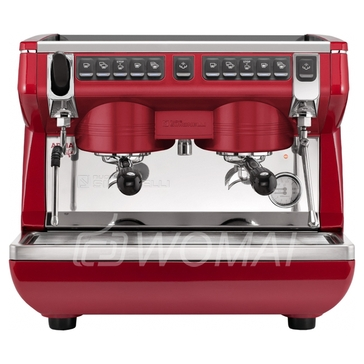 Nuova Simonelli ppia Life Compact 2Gr V 220V red+economizer+high groups Кофемашина-автомат традиционная с 2 высокими группами и экономайзером