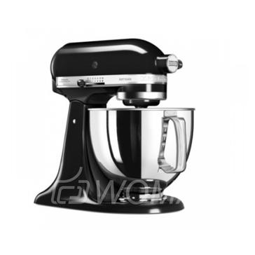 KitchenAid Миксер планетарный бытовой 5KSM175PSEOB, дежа 4.83л, 4 насадки, 2 чаши, черный