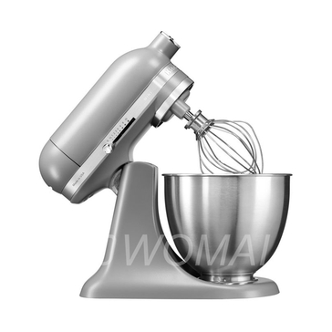KitchenAid Миксер планетарный бытовой MINI 5KSM3311XEFG, дежа 3,3л, 3 насадки, 1 чаша, матовый серый