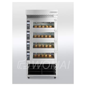Подовая хлебопекарная печь HELIOS 80120/1 Debag
