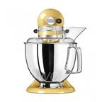 KitchenAid Миксер планетарный бытовой 5KSM175PSEMY, дежа 4.83л, 4 насадки, 2 чаши, желтый