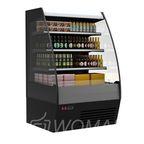 Витрина холодильная пристенная F16-80 VM/SH 1,0-2 0020 стеклопакет (Carboma 1600/875 ВХСп/ВТ-1,0) Полюс