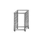 Шпилька(стеллаж) для гастроемкостей GN 1/1, 10 уровней