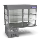 Витрина холодильная встраиваемая (стекло) 1200х600х710(1000)  Камик
