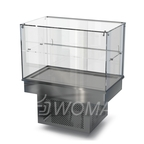 Холодильная витрина встраиваемая (стекло) 1100х450х600(1150)  Камик