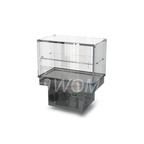 Холодильная витрина встраиваемая (стекло) 1000х650х600(1150)  Камик