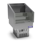 Витрина холодильная встраиваемая (открытая для бутылок) 820х750х1050  Камик